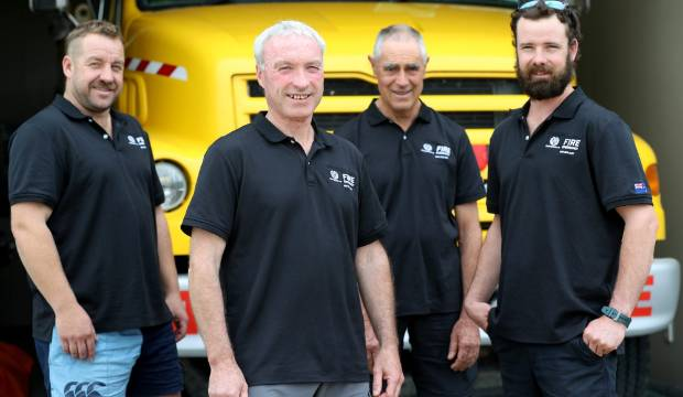 Southland firefighters humbled by Australian support