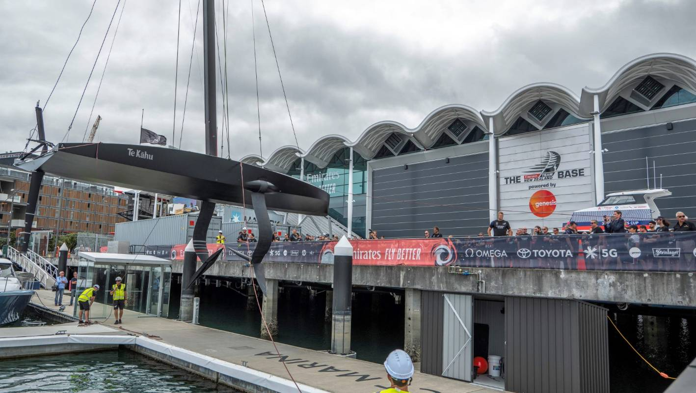 America's Cup: Team New Zealand launch new test boat