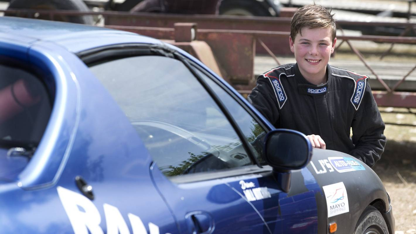 Timaru 13-year-old going racing at Levels Raceway