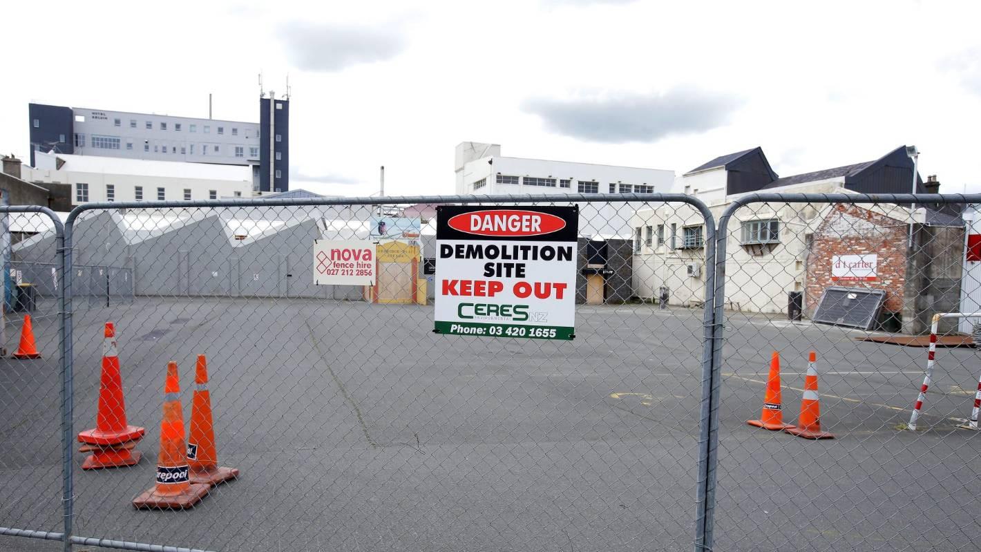 Demolition for the Invercargill CBD redevelopment begins