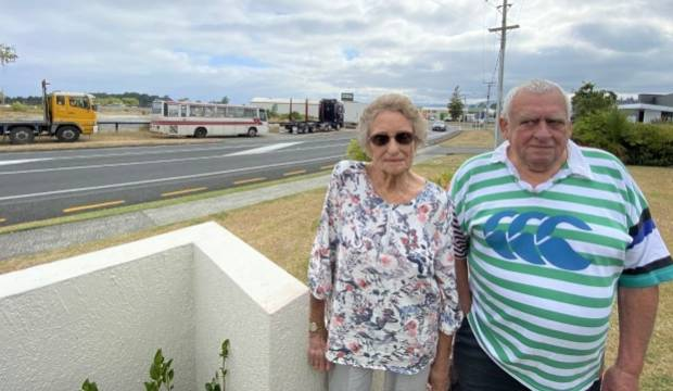 Fenton Park residents petition Rotorua council to reduce heavy vehicles on retirement village street