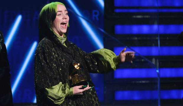 Billie Eilish makes history as youngest artist to sweep top 4 Grammys