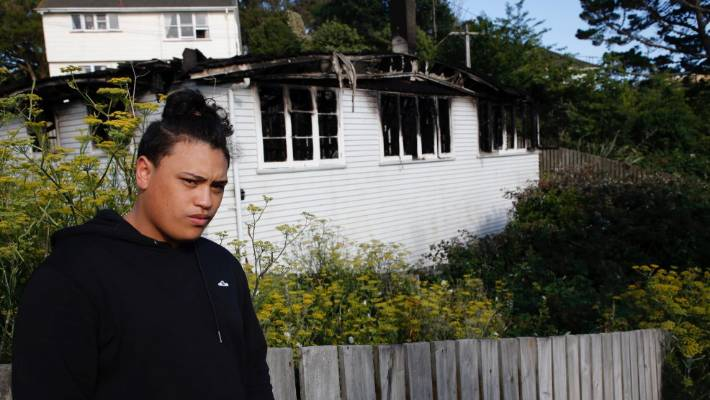 Vincent Ahiao was woken by the sound of shouting from a house fire next door.
