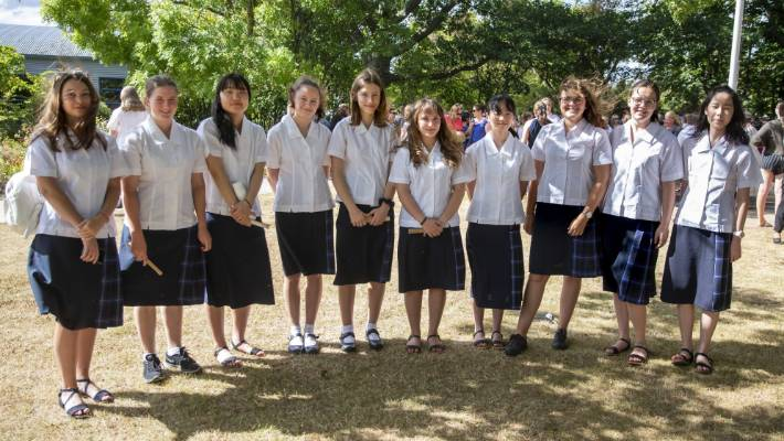 This year there are about 12 international students enrolled in Marlborough Girls' College, most of them are from Europe and Japan.