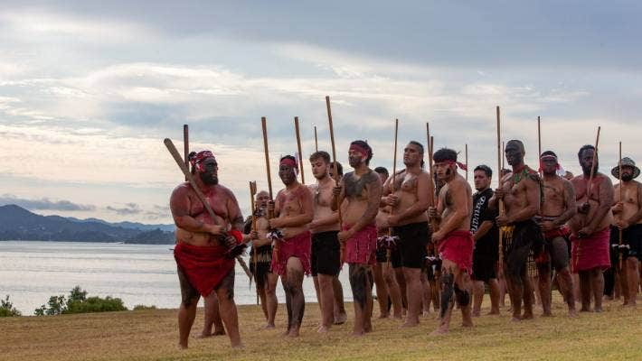 Members of Parliament were welcomed on to the Waitangi Treaty Grounds on Tuesday this week.