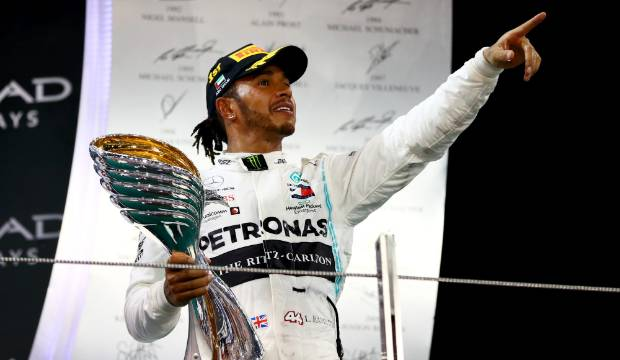 Hamilton and Messi share Laureus World Sportsman