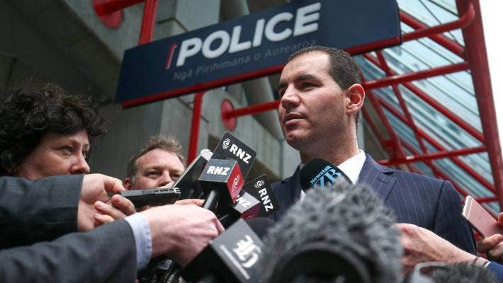 Jami-Lee Ross resigned from the National Party in 2018 after an internal investigation outed him as the source of leaks about leader Simon Bridges' expenses.