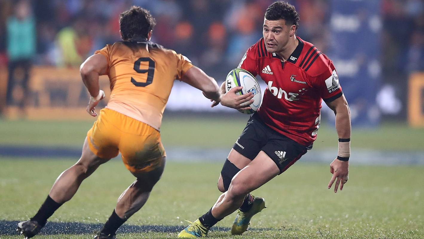 Super Rugby: Richie Mo'unga injury prompts surprise Crusaders selection