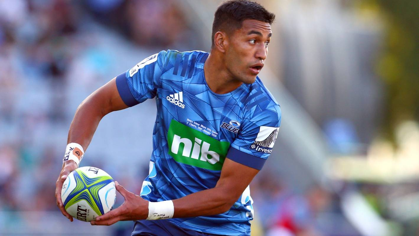 Super Rugby: All Blacks options as Rieko Ioane shines on centre stage for Blues - Stuff.co.nz