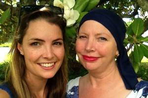 """""""I don't think I had even heard of ovarian cancer before my mum was diagnosed with ovarian cancer."""" Pictured:  Sophie ..."""