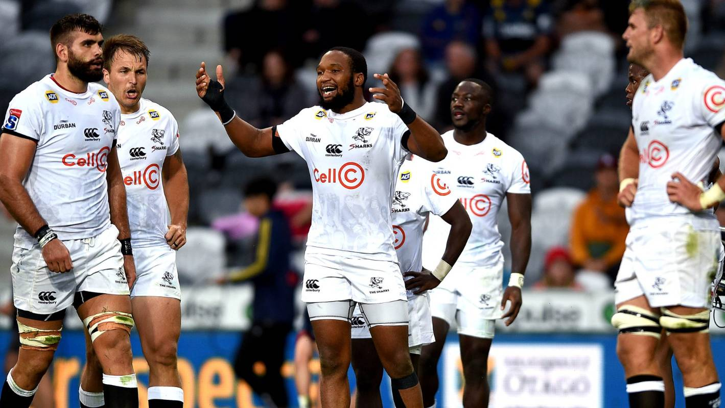 Super Rugby: Sharks' rush defence king throws down gauntlet to Kiwi teams - Stuff.co.nz