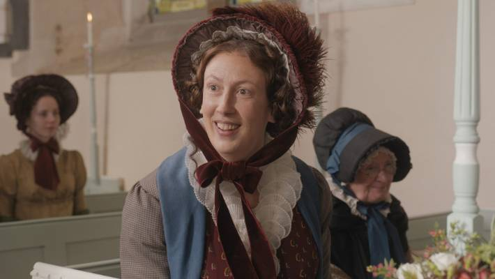 Miranda Hart plays Miss Bates in the latest big screen version of Jane Austen's Emma.