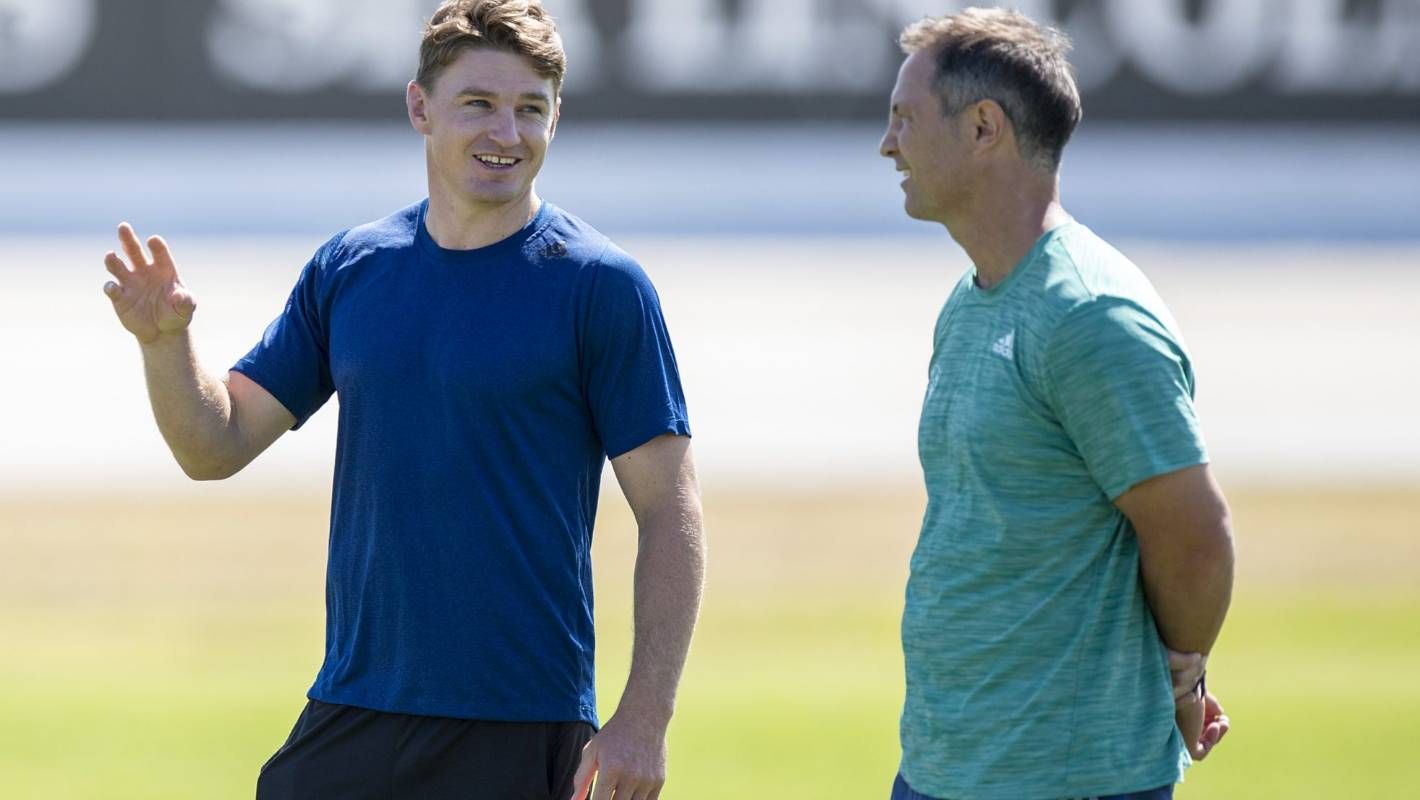 Super Rugby: Beauden Barrett back with Blues; message mixed on star's return date - Stuff.co.nz