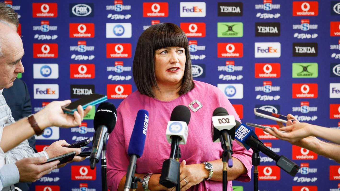Rugby Australia chief Raelene Castle holds firm as others storm the gate