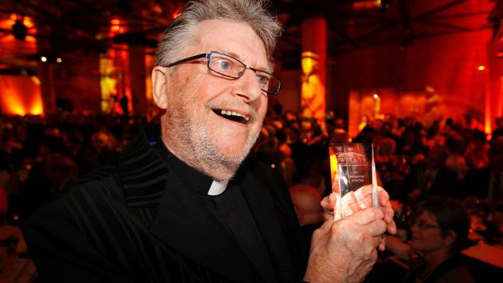 Des Britten was named Wellingtonian of the Year in 2011.