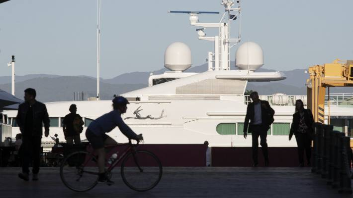 Superyacht with Epstein connection docks in Wellington | Stuff.co.nz