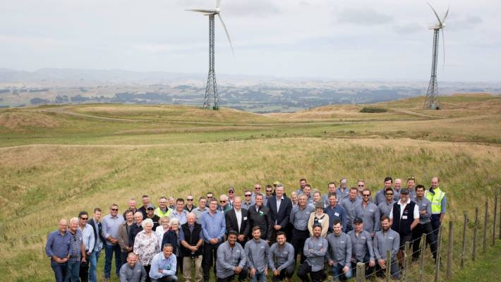 Tilt Renewables celebrates 20 years of commercial wind generations from the Tararua Wind Farm.