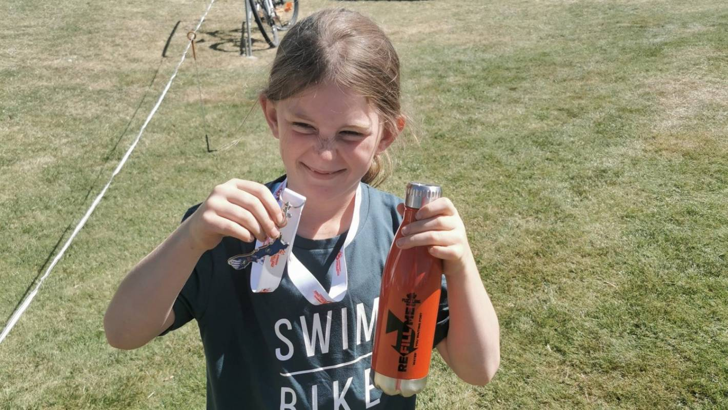 Cerebral palsy no barrier to 8-year-old with a love of sport