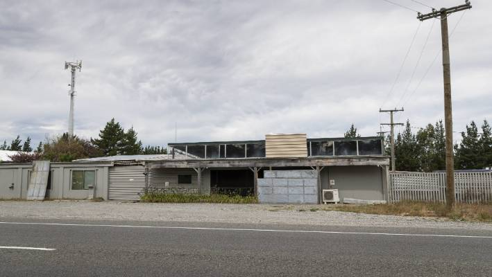 The new Mongols MC clubhouse on Main South Rd in Burnham, on the outskirts of Christchurch.