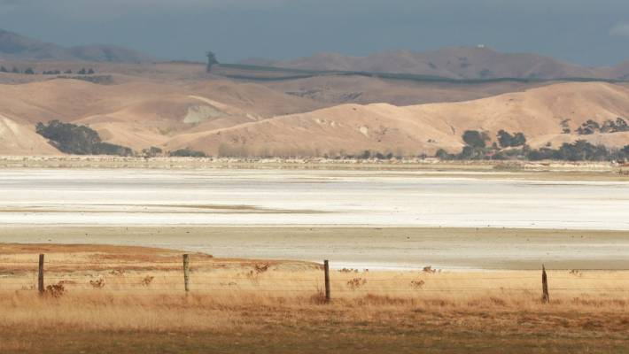 The shimmering salt effect will only last another few weeks, said Dominion Salt site manager Euan McLeish.