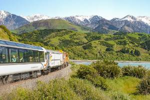 The Coastal Pacific Great Train Journey runs between Picton and Christchurch.