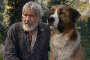 The rarely seen Harrison Ford is joined by a CGI-created companion in The Call of the Wild.