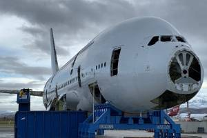 The A380 is being recycled.