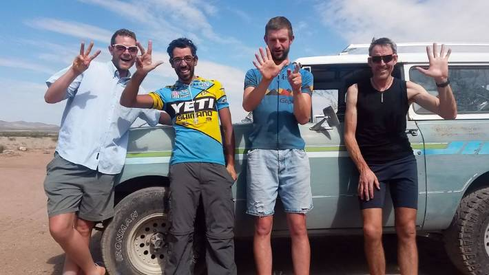 Finishers of the Tour Divide 2016. All finished within half a day of each other after riding the length of the US within hours of each other and often together?