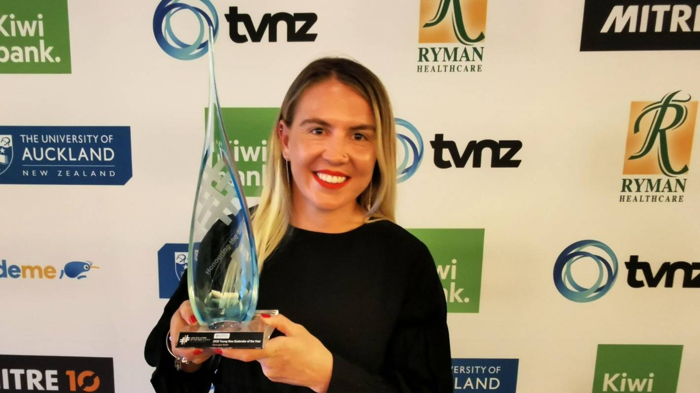 Georgia Hale named Young New Zealander of Year