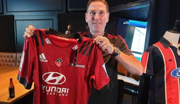 Crusaders fans get chance to upgrade old supporters' jerseys to new logo