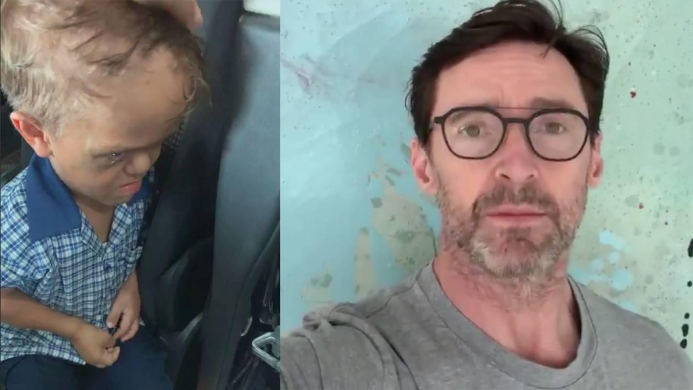 Hugh Jackman reaches out to bullied Australian boy
