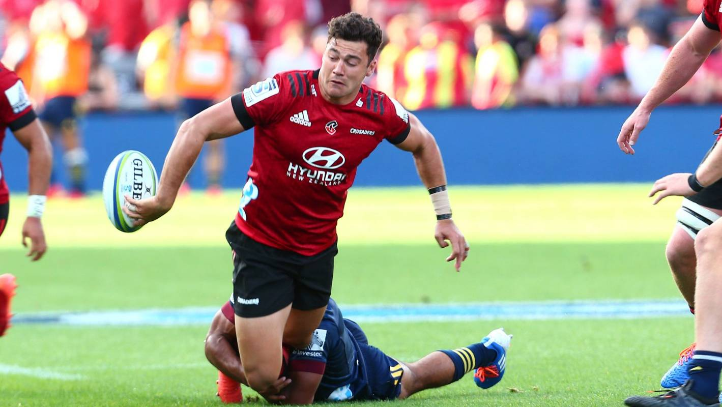 Super Rugby: Crusaders fullback David Havili remains in hospital following  bowel infection | Stuff.co.nz