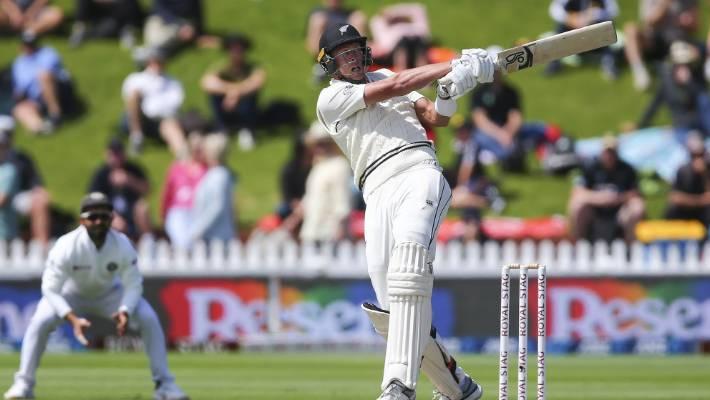 New Zealand vs India: Memorable Kyle Jamieson debut continues at Basin   Stuff.co.nz