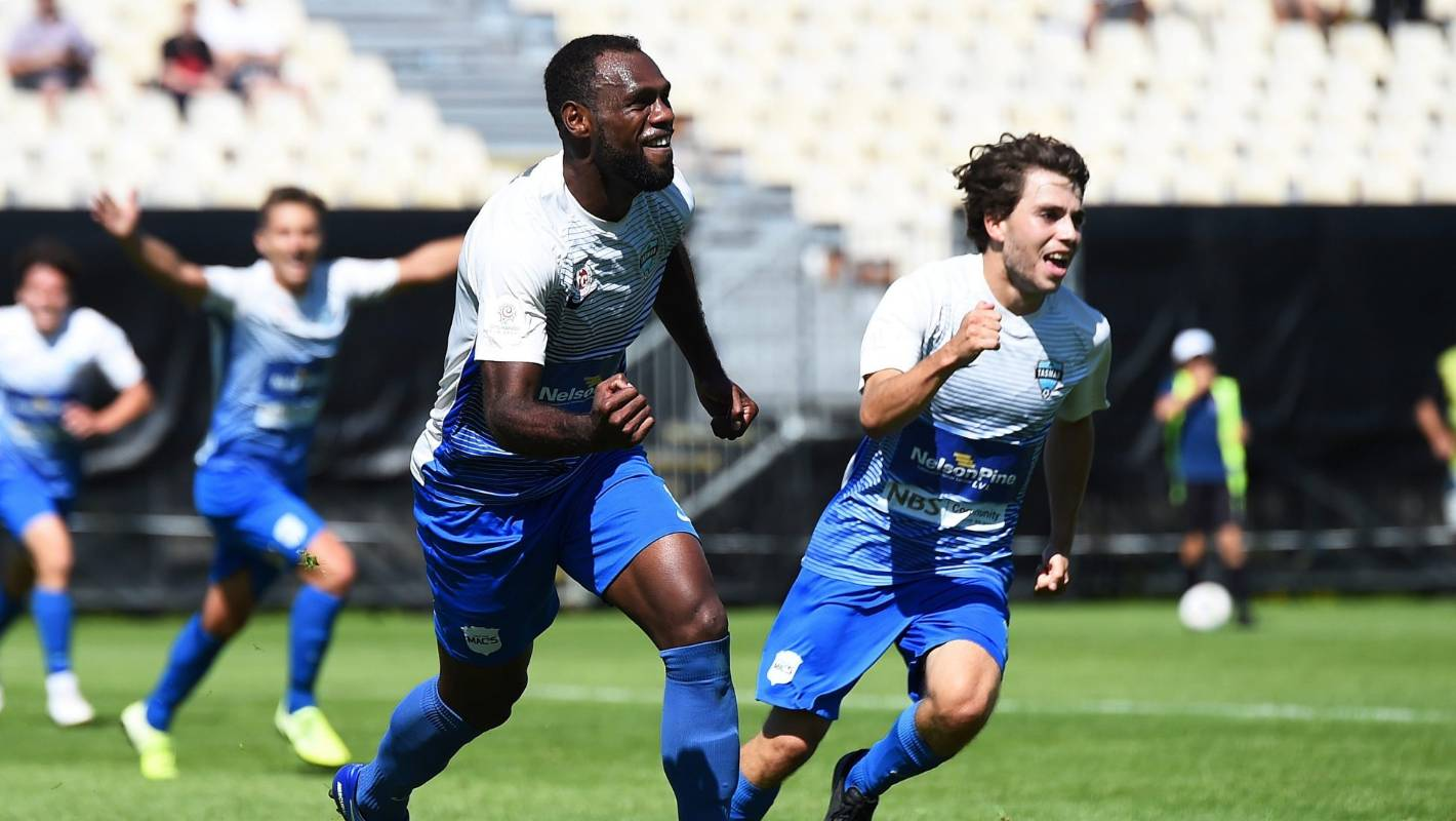 Tasman United end Auckland City's unbeaten run in national football league