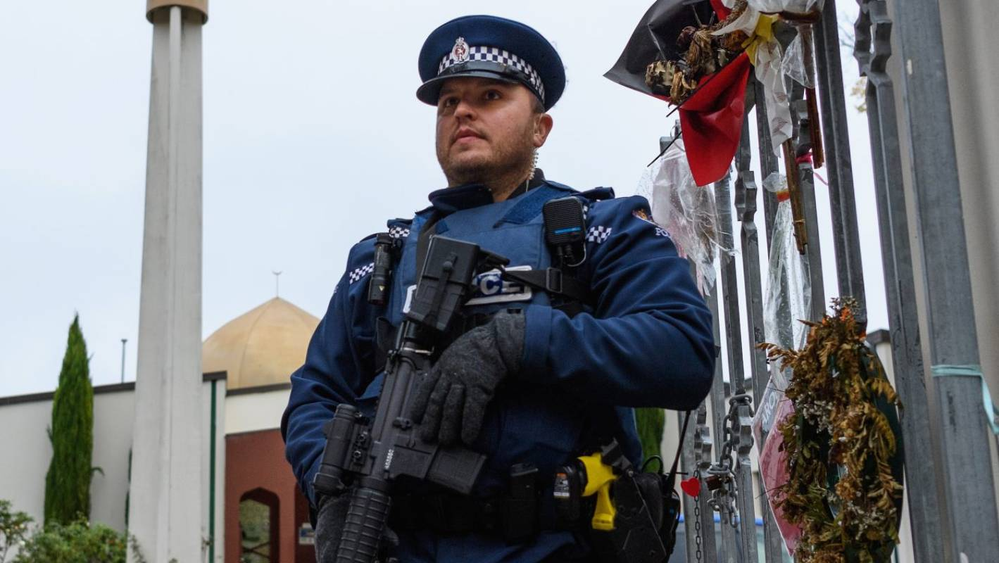 There's no justification for police having guns after March 15, 2020