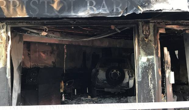 Barbershop firebombed twice amid gang tensions not insured, fundraising to reopen