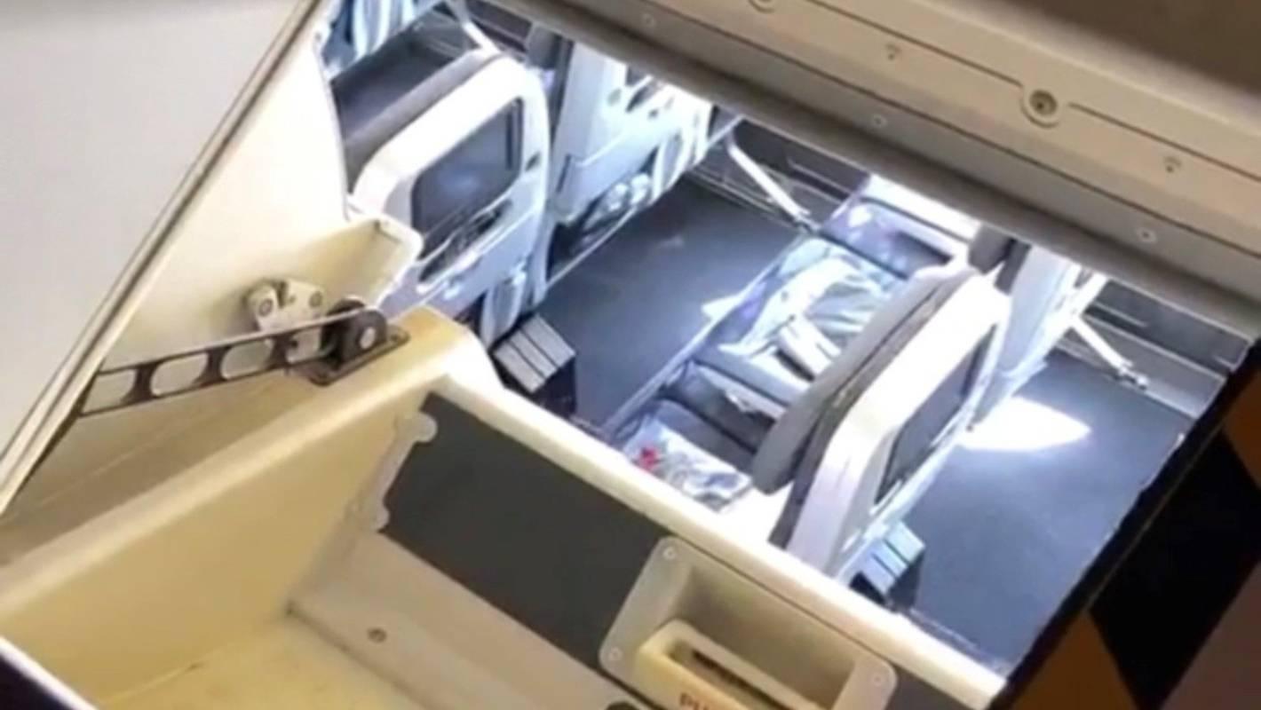 The secret escape hatch flight attendants use on commercial aircraft