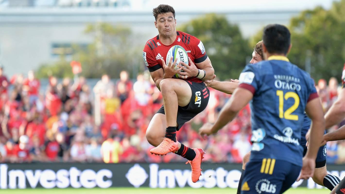 Super Rugby team of the week: Crusaders' David Havili makes the game look easy - Stuff.co.nz