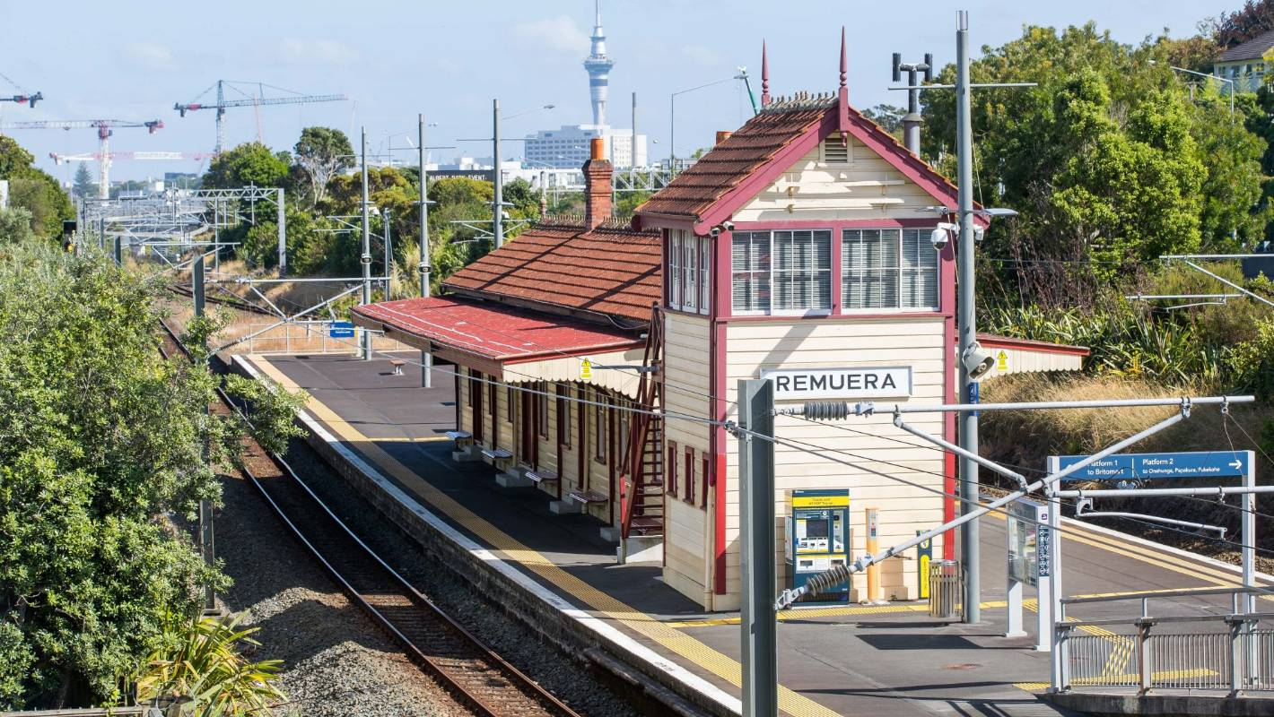 Auckland train services suspended after person killed by train