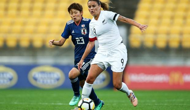 Football Ferns' leading goalscorer Amber Hearn slips quietly into retirement