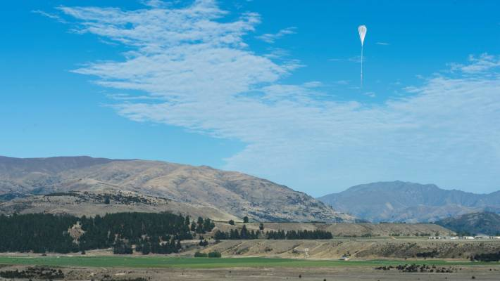 The balloon will run for about 100 days – floating at an altitude of 110,000 feet.