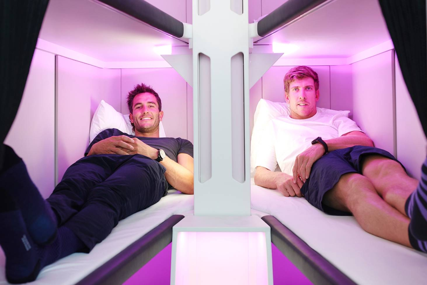 Picture of: Ground Breaking Air New Zealand Economy Sleep Pods Basically Just Bunk Beds Stuff Co Nz