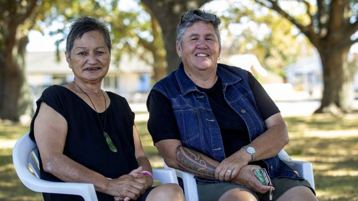Prim Wikaire (left) and Māori cancer navigator Chrissy Paul, have a relationship that helps put the patient at the centre of her health care.