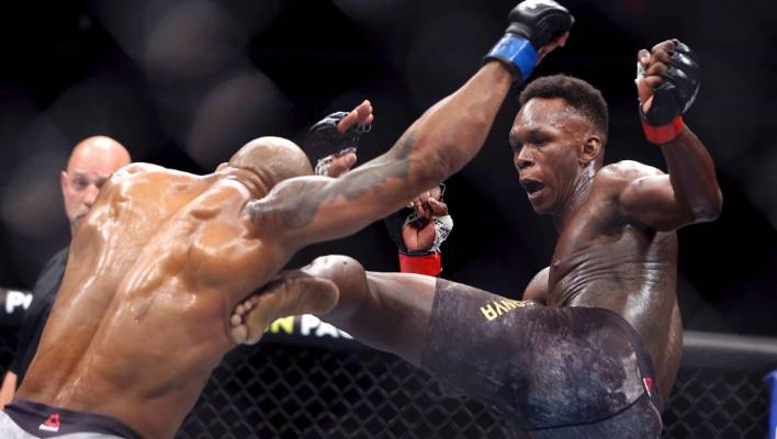 Israel Adesanya defended his middleweight title at UFC 248 in Las Vegas.