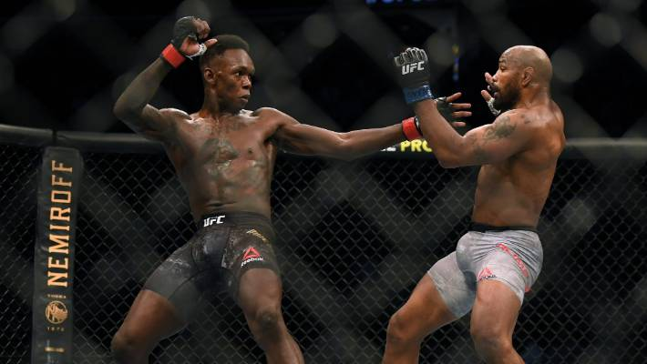 It was a fight that lacked much action, but Israel Adesanya will take the victory.