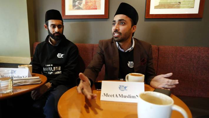 Mustenser and Sabah will answer questions about Islam over the next several days in different towns in the South Island.