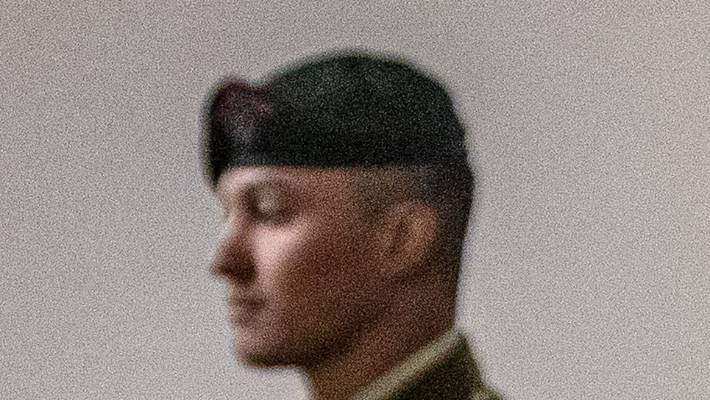 Lance Corporal James Laurenson was found guilty of wounding with intent to injure.