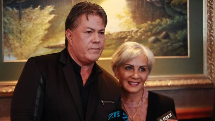 Brian and Hannah Tamaki.
