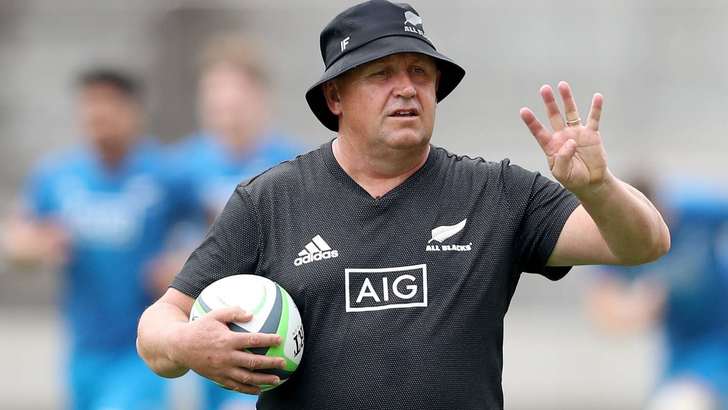 All Blacks coach Ian Foster's eyes his contenders, but readiness tough to gauge
