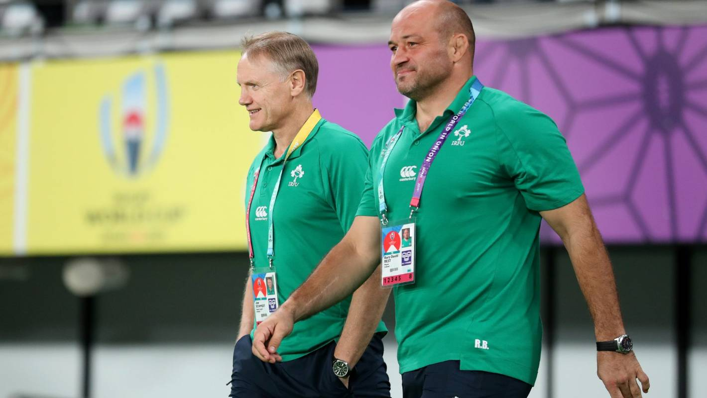 How Rory Best put things right with Joe Schmidt over Ireland Rugby World Cup campaign comments - Stuff.co.nz